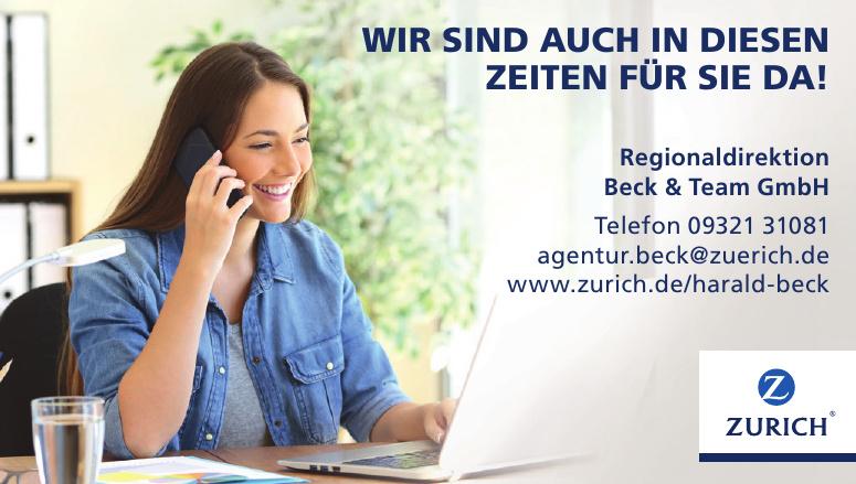 Zurich - Regionaldirektion Beck & Team GmbH