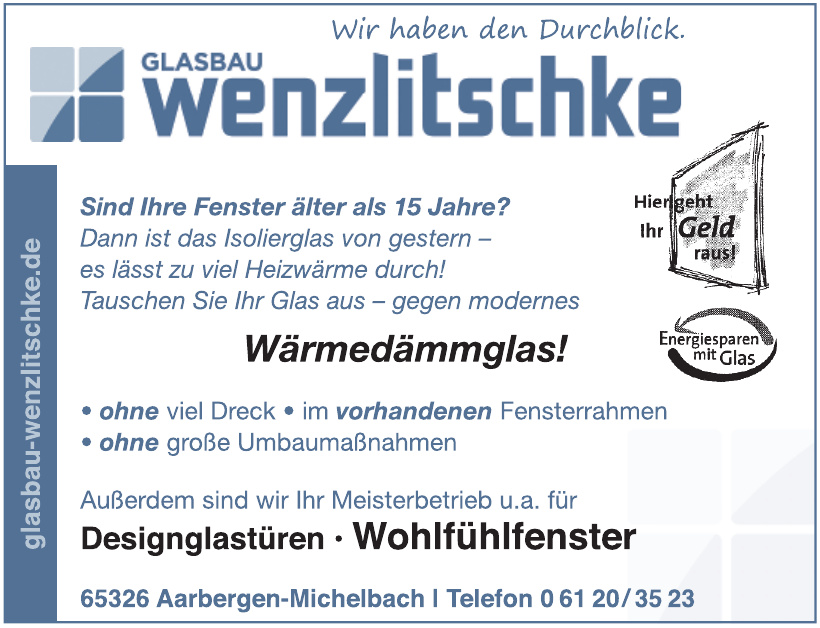 Glasbau Wenzlitschke