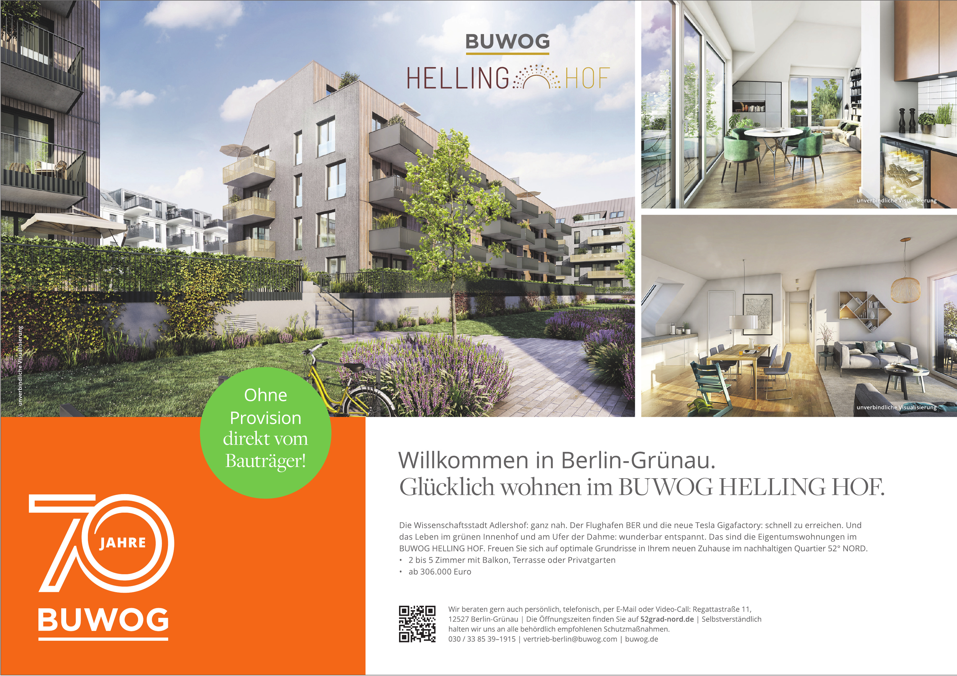 Quartier 52° Nord - BUWOG HELLING HOF
