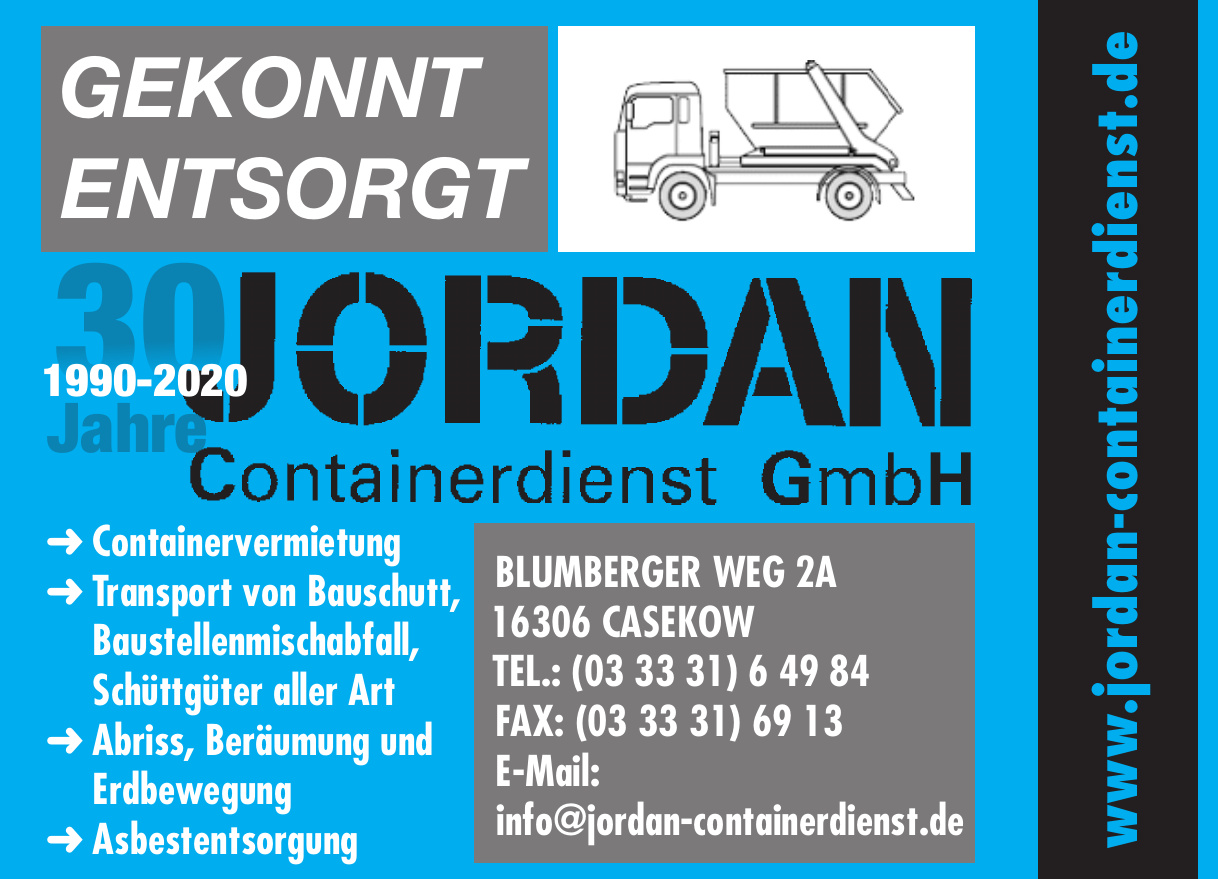 Jordan Containerdienst GmbH