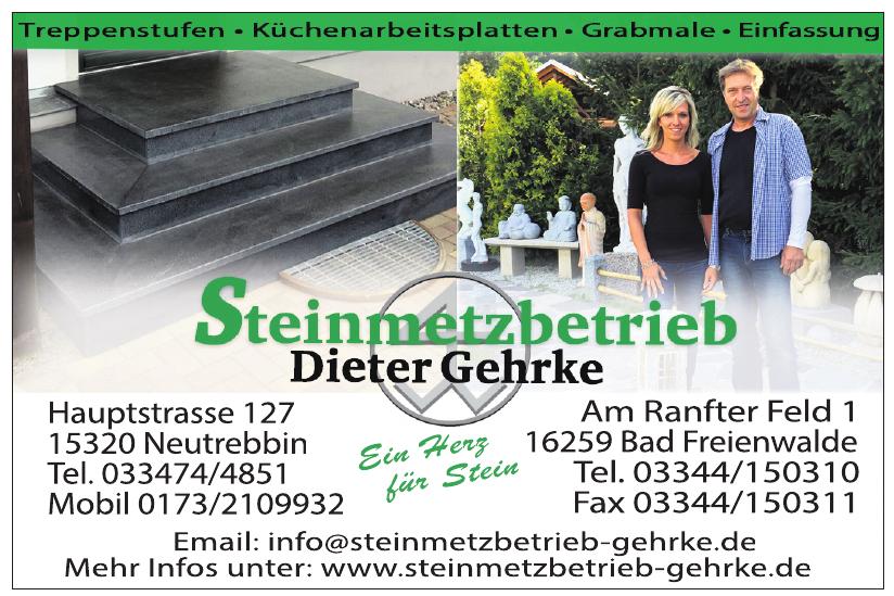 Steinmetzbetrieb Dieter Gehrke