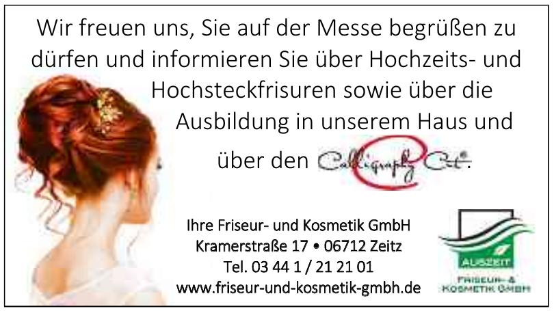 Ihre Friseur- und Kosmetik GmbH