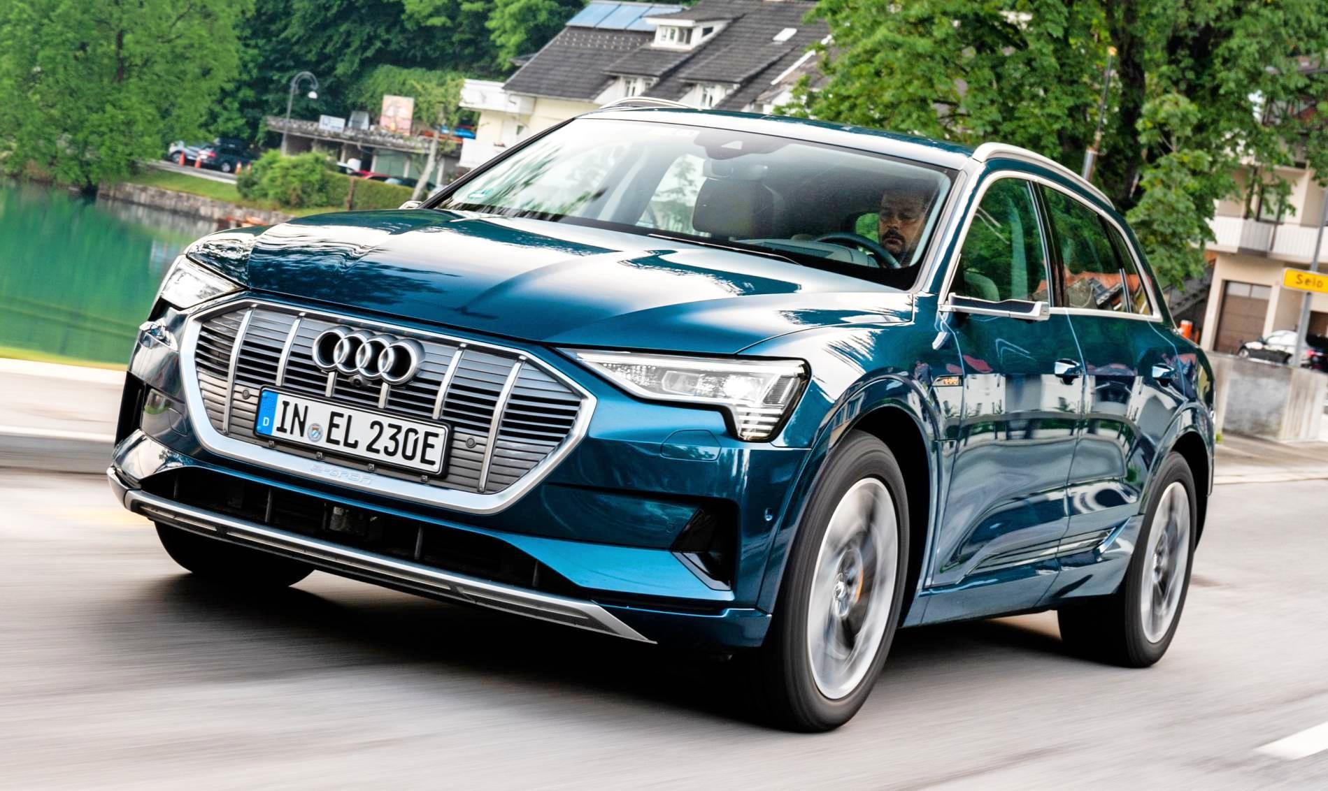 Mit dem Audi E-Tron ging bei Audi alles los. Bis zum Jahr 2025 folgen mehr als 30 Modelle mit Stecker – unter anderem der sportliche E-Tron GT, der am Standort Böllinger Höfe in Heilbronn gebaut wird. Foto: Audi