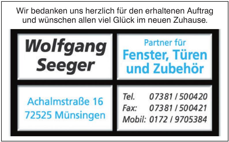 Wolfgang Seeger