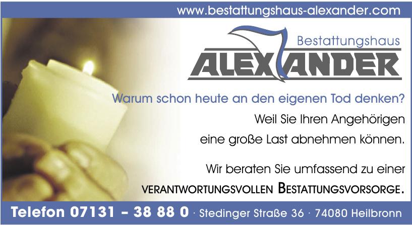 Bestattungshaus Alexander