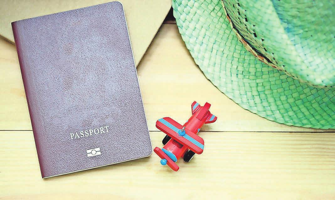 Der Reisepass ist das wichtigste Dokument für den Urlaub. Foto: Pexels