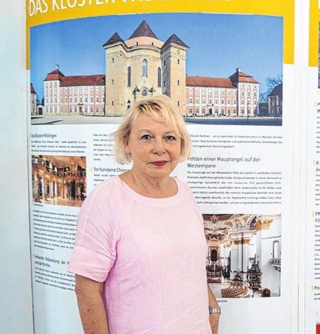 Ulrike Häufele vom Förderkreis.