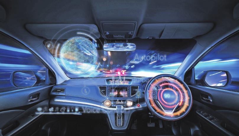 Künstliche Intelligenz sorgt für einen tiefgreifenden Wandel in der Automobilwirtschaft, etwa bei der Bordarchitektur eines Autos. Die Fahrzeuge sollen immer kleiner und leichter werden, gleichzeitig braucht es beim autonomen Fahren immer mehr Technik, die in den Wagen eingebaut wird.