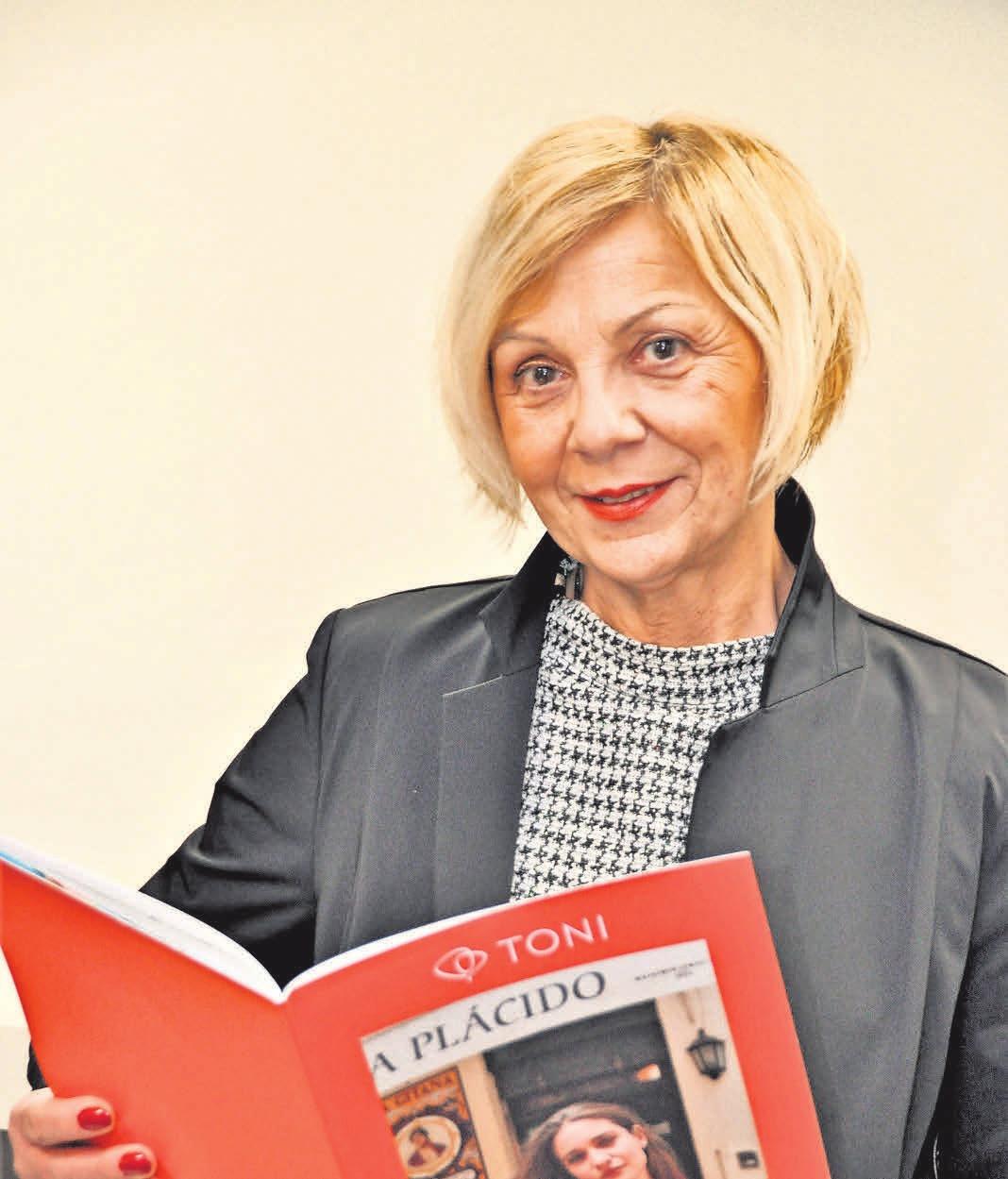 Gabriele Fiedler-Ksiazyk präsentiert die neue Frühjahrskollektion