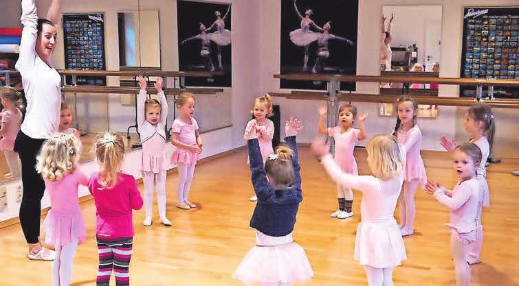 Der neue Kursus beginnt nach Ostern: Tänzerische Früherziehung schult auch persönliche und soziale Kompetenzen.