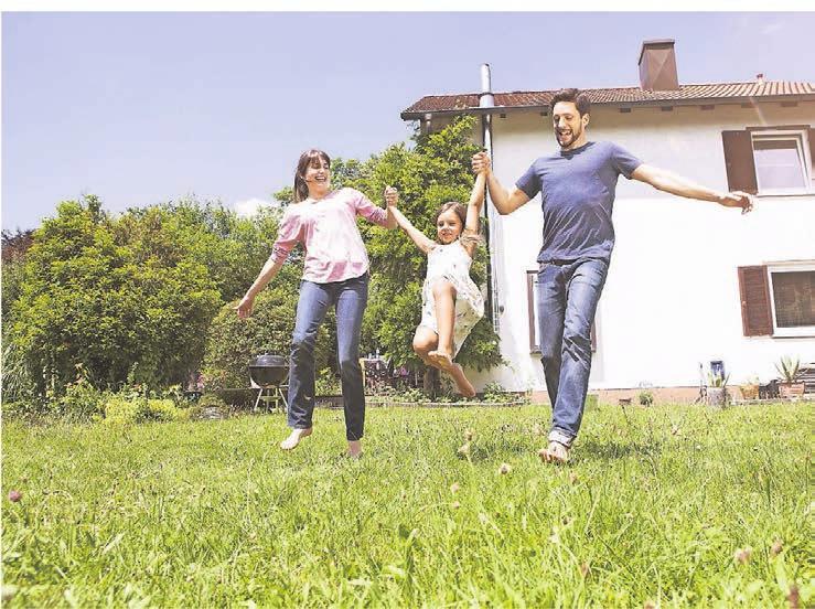 Das Baukindergeld soll Familien den Umzug ins Eigenheim erleichtern. Eigenkapital brauchen sie trotzdem . Foto: dpa/Rainer Berg