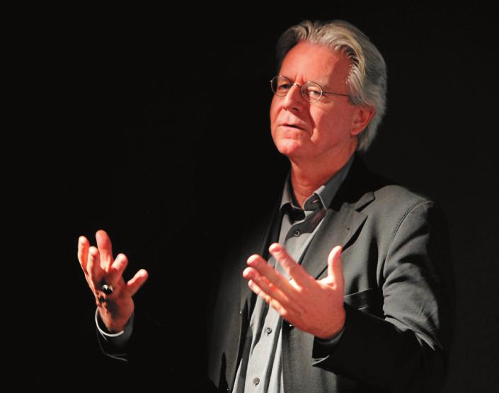Claus Unzen von der HfM setzt sich für eine praxisnahe Ausbildung ein. FOTO: ERNST FESSELER