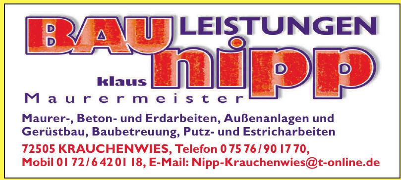 Nipp Klaus Bauleistungen