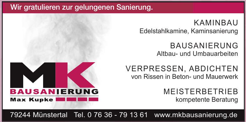 MK Bausanierung Max Kupke