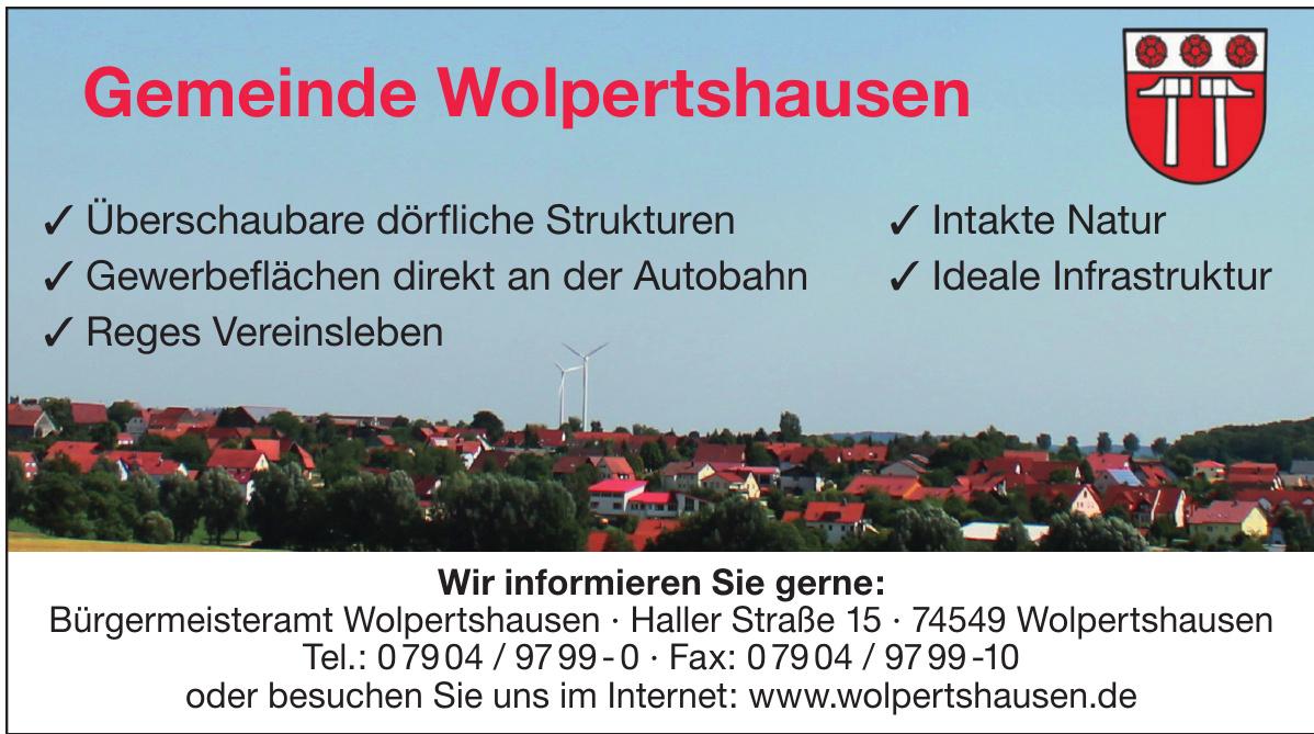 Gemeinde Wolpertshausen