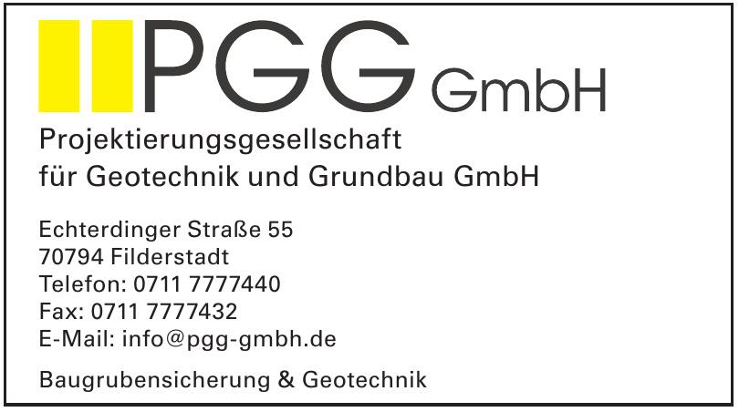 Projektierungsgesellschaft für Geotechnik und Grundbau GmbH