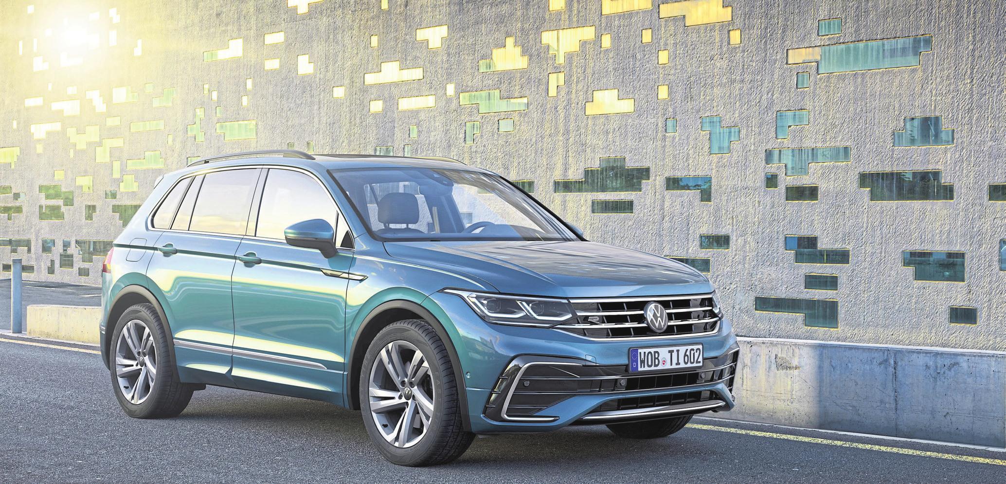Der neue Tiguan wird den Erfolgsweg seiner Vorgänger fortsetzen. FOTO: VW/PN