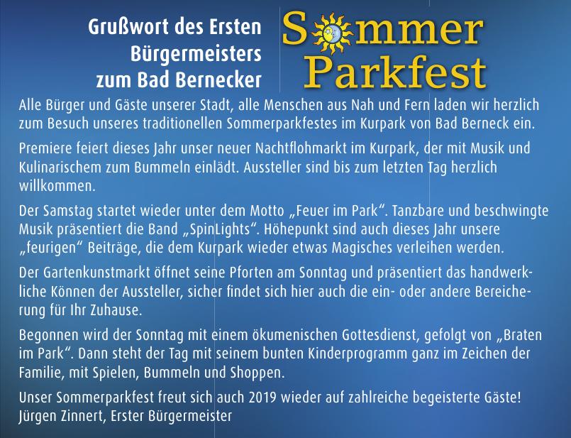 Sommerparkfest 2019