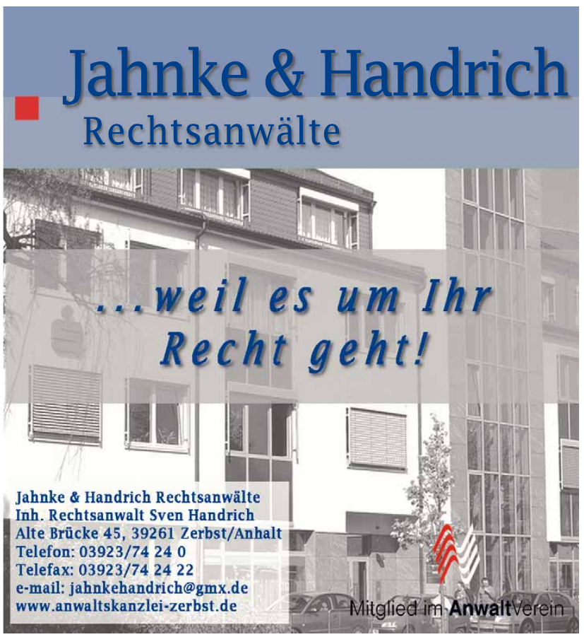 Rechtsanwälte Jahnke & Handrich