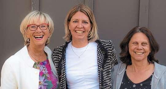 Kompetente Anwältinnen: (von links) Heidrun Mümmler, Simone Holzapfel und Monika Regnath. Foto: oh