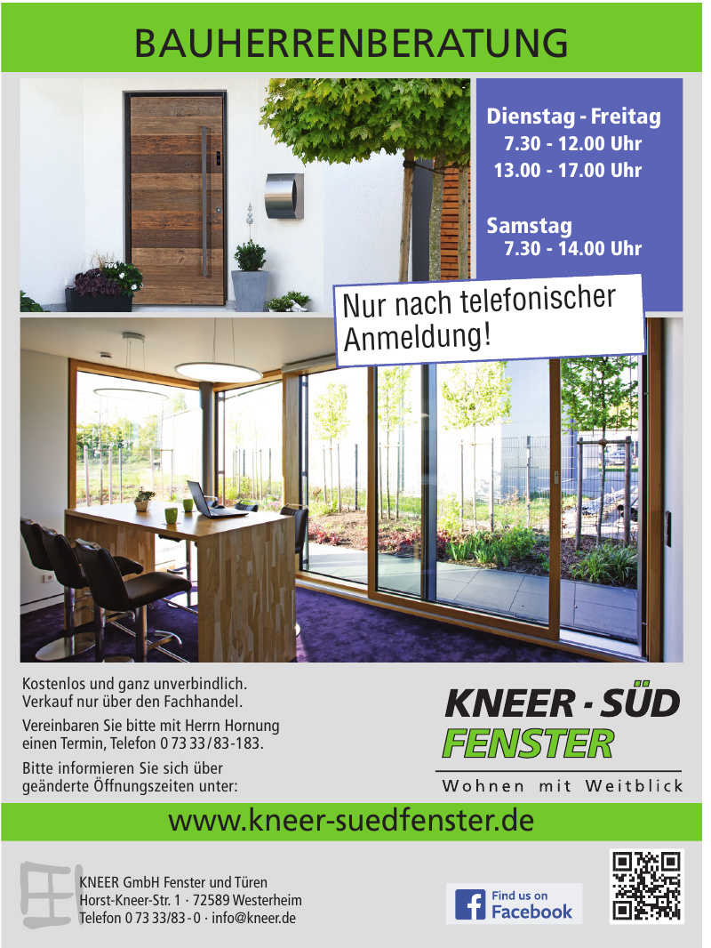 KNEER GmbH Fenster und Türen