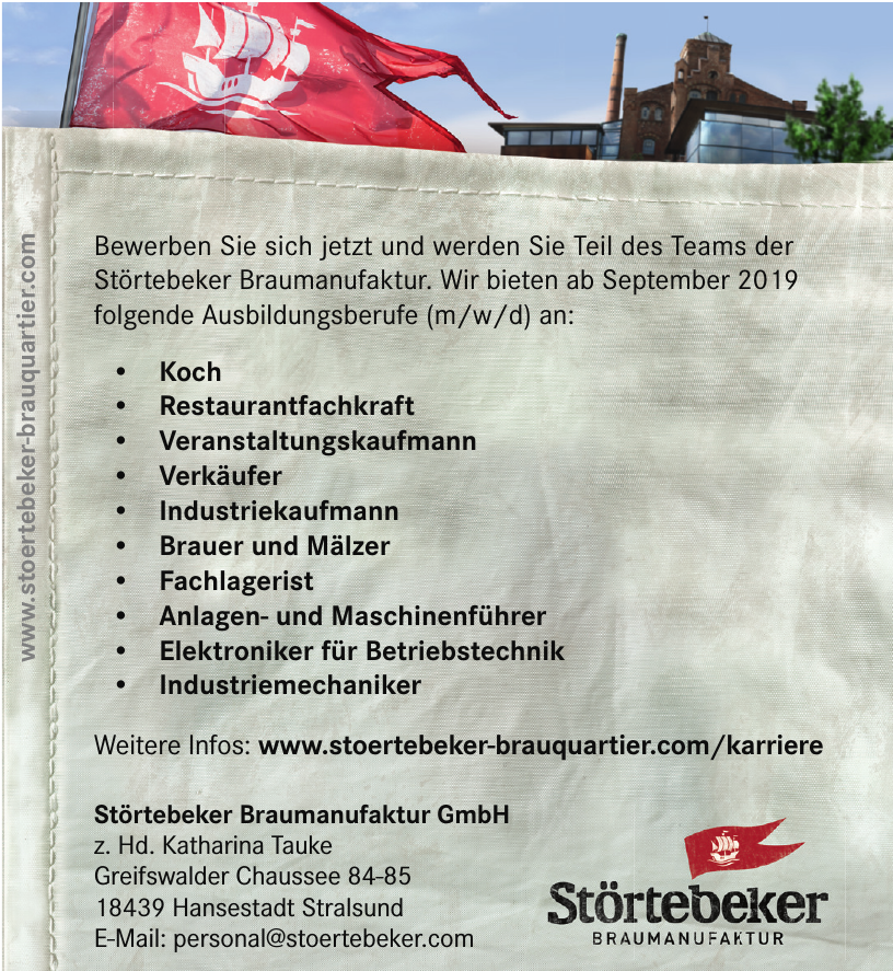 Störtebeker Braumanufaktur GmbH