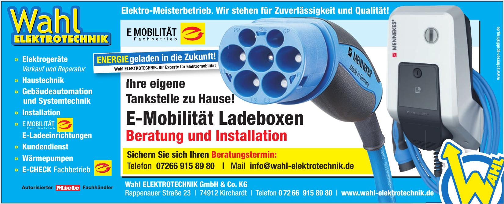 Wahl ELEKTROTECHNIK GmbH & Co. KG