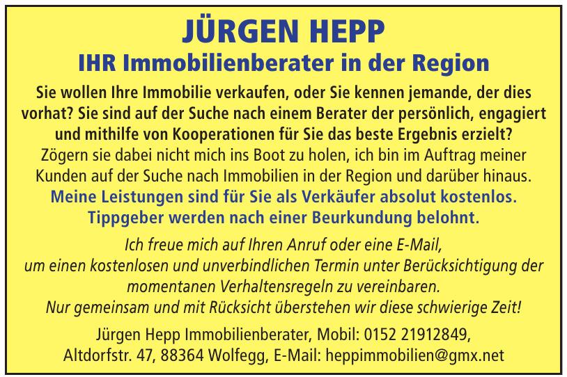 Jürgen Hepp Immobilienberater
