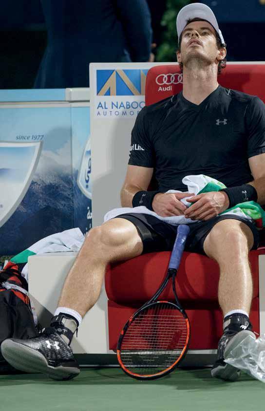 Andy Murray kehrt zurück. Foto Jürgen Hasenkopf