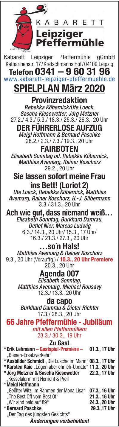 Leipziger Pfeffermühle Kabarett