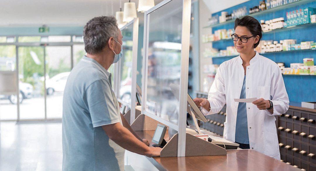 Die Apotheken sind verlässliche Partner in der Pandemie und weit darüber hinaus. Ab 2022 kann man hier digitale Rezepte einlösen. Bild: ABDA
