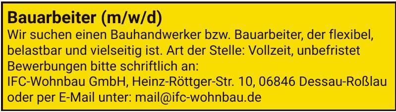 IFC-Wohnbau GmbH