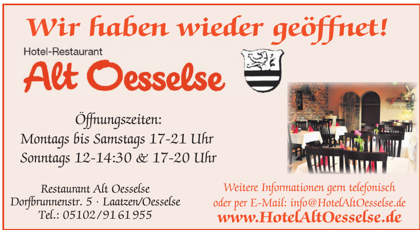 Restaurant Alt Oesselse