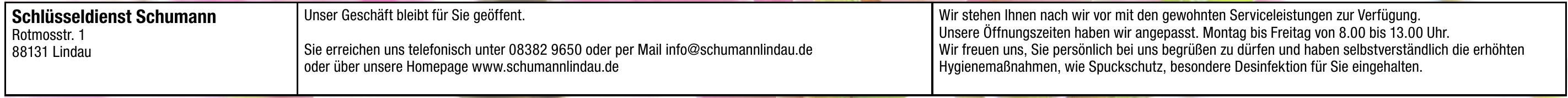 Schlüsseldienst Schumann e.K.