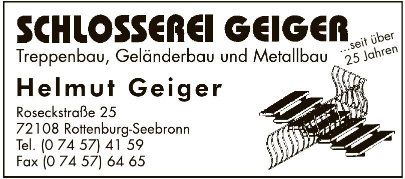 Schlosserei Geiger