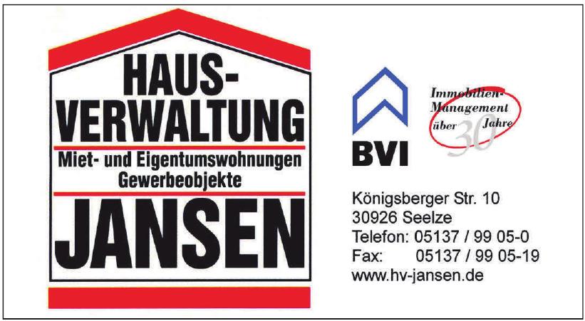 Hausverwaltung Jansen