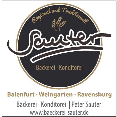 Bäckerei & Konditorei Peter Sauter
