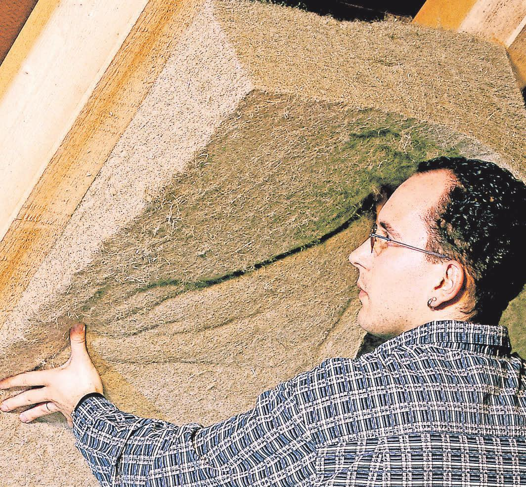 Durch die Nutzung von Materialien wie Holz, Hanf und Jute greifen Bauherren zunehmend zu natürlichen Alternativen. Foto; tdx/Thermo Natur