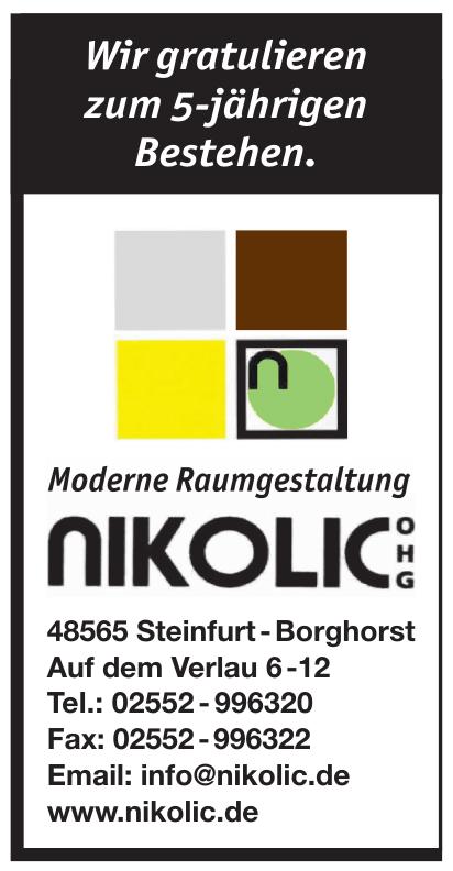 Nikolic OHG