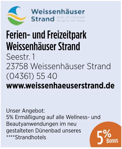 Ferien-und Freizeitpark Weissenhäuser Strand