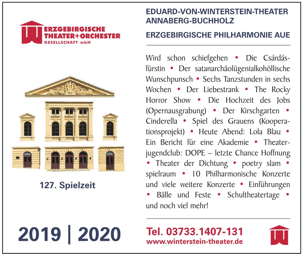 Werzgebirgische Theater+Orchester Gesellschaft mbH