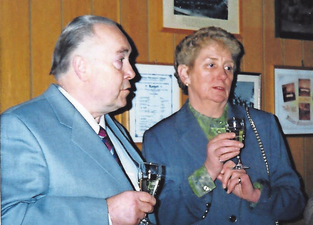 Wolfgang und Ursula Mandel übernahmen 1969 das Restaurant/Hotel.