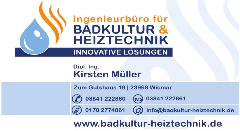 Badkultur & Heiztechnik | Dipl. Ing. Kirsten Müller