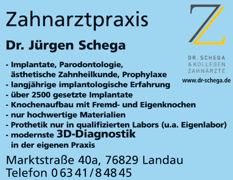 Dr. Jürgen Schega