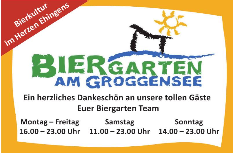 Biergarten am Groggensee