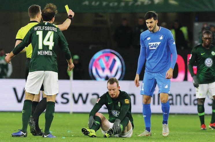 Spitzenwert: Kein Team wird so oft gefoult wie der VfL Wolfsburg.