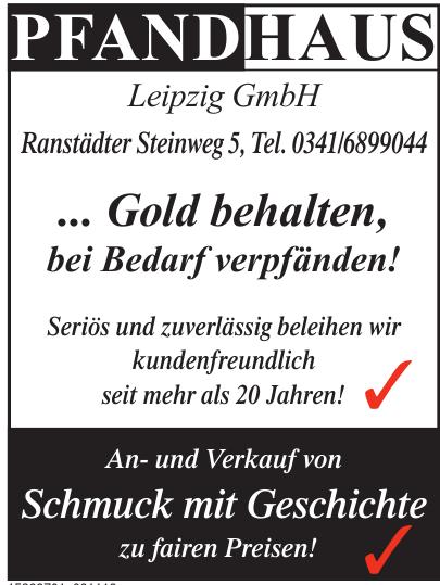 Pfandhaus Leipzig GmbH