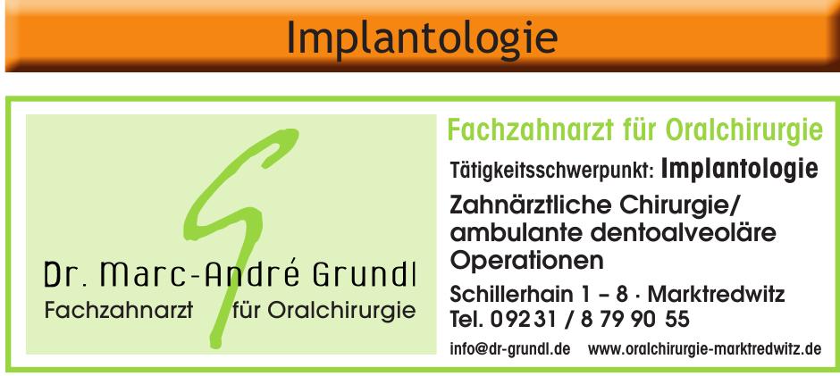 Dr. med. dent. Marc-André Grundl