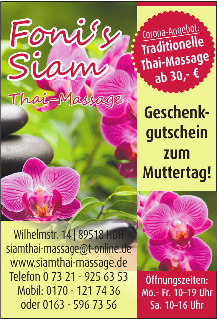 Foni's Siam Thai Massage