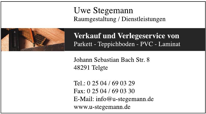 Uwe Stegemann - Raumgestaltung / Dienstleistungen